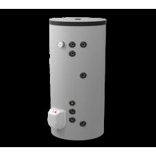 Комбинированный напольный водонагреватель 200л, с двумя параллельно расположенными теплообменниками, эмалированный