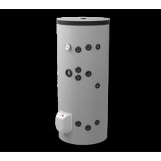 Комбинированный напольный водонагреватель 200л, с двумя теплообменниками, эмалированный