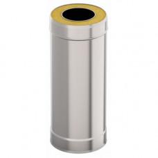 Сэндвич-труба d 115х200, L = 1 м, Н+Н, 0,5 мм 0,5 мм