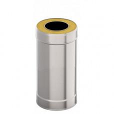 Сэндвич-труба d 115х200, L = 0,5 м, Н+Н, 0,5 мм 0,5 мм