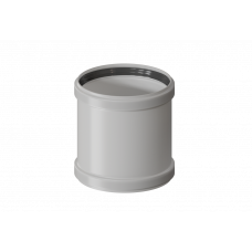 Адаптер конденсационный D80 (мама/мама)