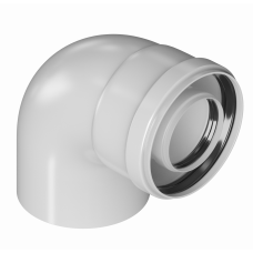 Отвод конденсац. 60/100 угол 90°