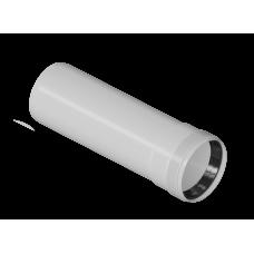 Удлинитель 2000 мм конденсационный Ø80