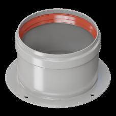 Адаптер раздельный D 80 (воздуховод) для перехода на двухтрубную систему (Immergas)