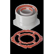 Адаптер раздельный D 80 (газоход) Immergas