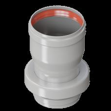 Адаптер с 60/100 на 80 (газоход)