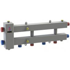 Гидравлический разделитель модульного типа на три контура ГРМ-3Н-60 (серебро)