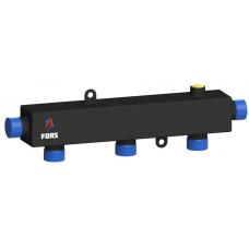Гидравлический коллектор на три контура ГКУ-3-100 (черный)