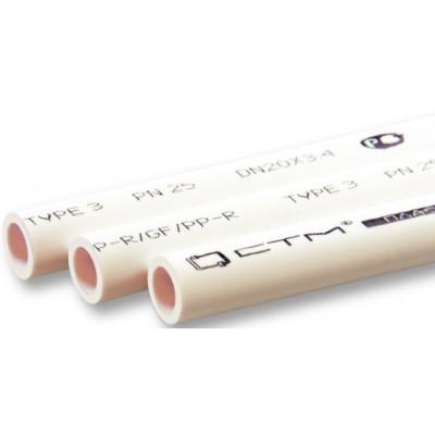 Труба PP-R PN 20 DN 20х3,4 СТМ ПЛАСТ 2м