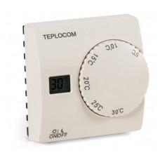 Проводной комнатный термостат TEPLOCOM TS-2AA/8A