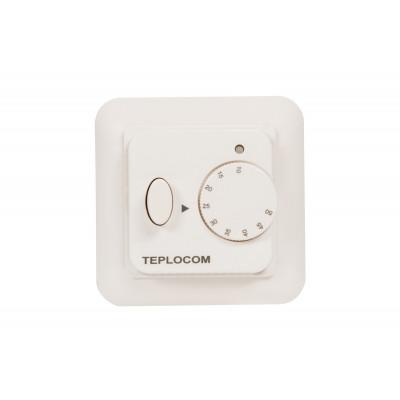 Встраиваемый термостат для электрического тёплого пола TEPLOCOM TSF-220/16A