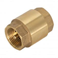"""Обратный клапан для воды 2"""" с латунным штоком СТМ"""